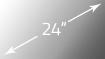 SMART VISION 24 Zoll Display in Küche integriert