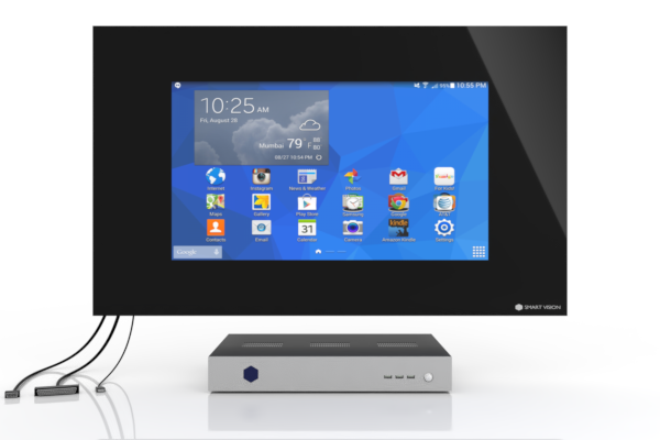 SMART VISION Kompaktmodul mit LCD groß Front