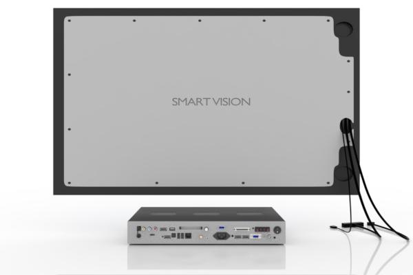 SMART VISION Kompaktmodul mit LCD groß Rückseite
