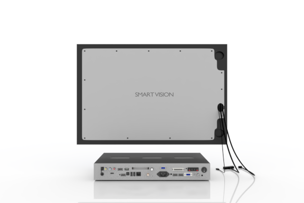 SMART VISION Kompaktmodul mit LCD klein Rückseite