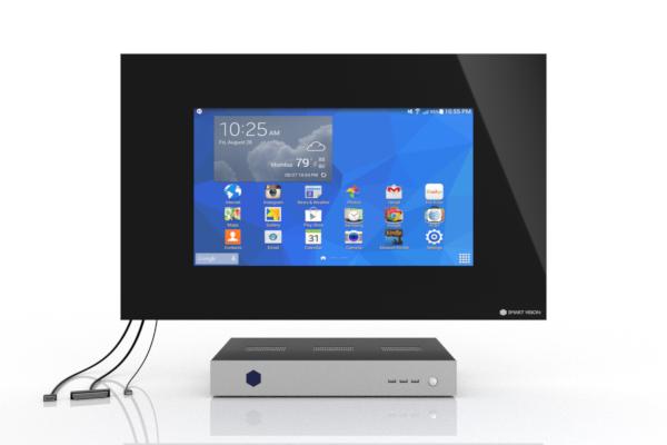 SMART VISION Kompaktmodul mit LCD mittel Front