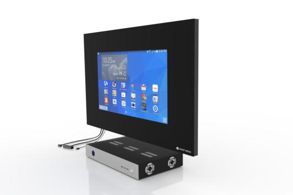 SMART VISION Kompaktmodul mit LCD mittel seitlich