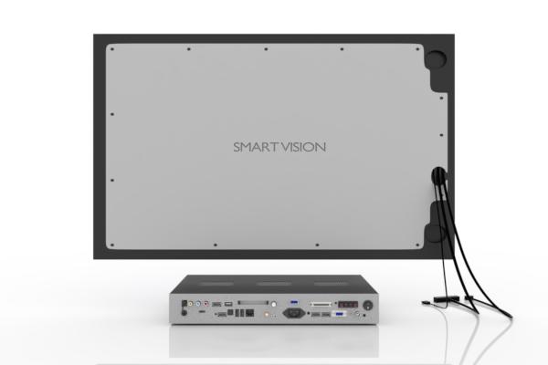 SMART VISION Kompaktmodul mit LCD mittel Rückseite