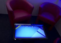 Couchtisch mit LCD integriert