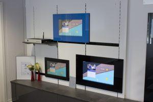 SMART VISION LCD Kompaktmodule mit Touchbedienung in unserer Ausstellung