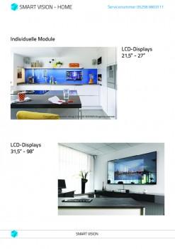 smart vision preise lcd-integration für küche mit android und tv - Glasrückwand Küche Preis