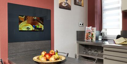 LCD-Kompaktmodule - beziehen Sie Inhalte aus Internet und HD-TV in Ihren Küchenalltag ein