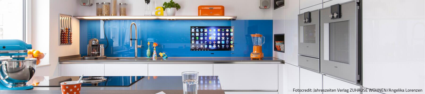 SMART VISION Fernseher in der Küche integrieren