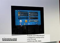 Wandmodul mit 31,5″ LCD und integrierten Lautsprechern